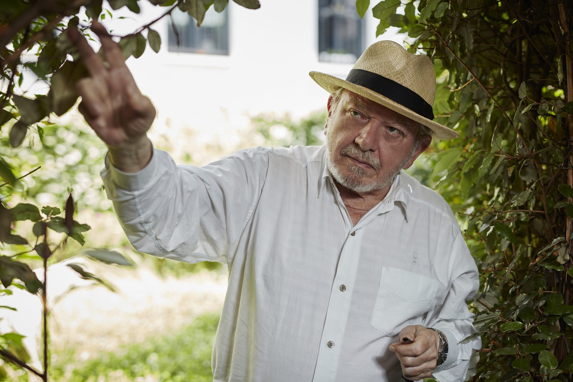Portrait de Jean-Louis Comolli